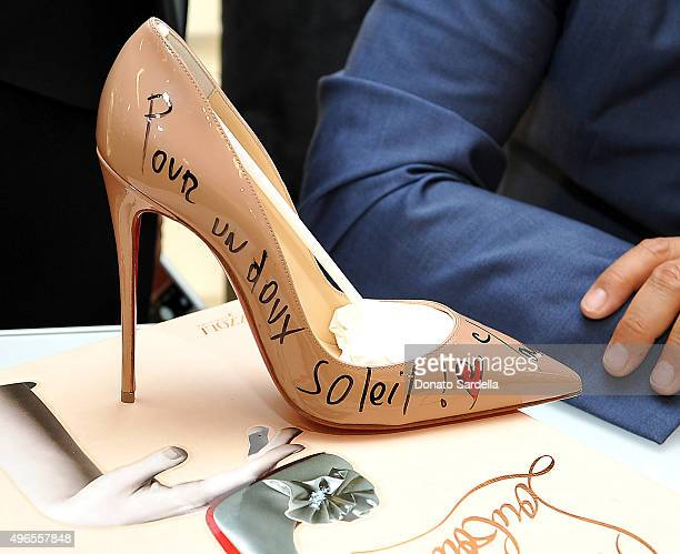 christian louboutin shoe signing 2015