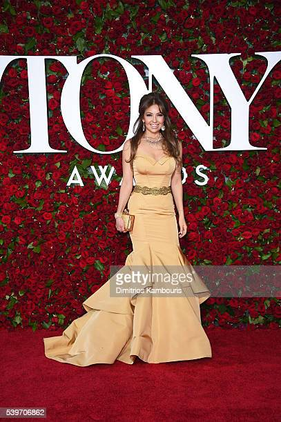 Signer Thalia attends the 70th Annual Tony Awards at The Beacon Theatre on June 12 2016 in New York City