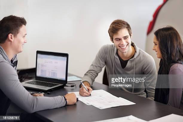 Firmare tutti i documenti