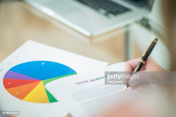 Signature d'un prêt