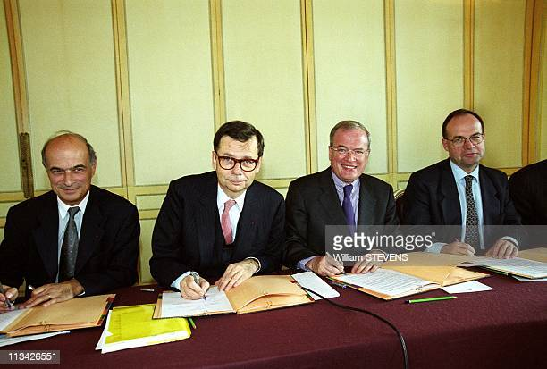 Signing of Promotion Agreement for Natural Gas Vehicles On November 3Rd 1999 In ParisFrance
