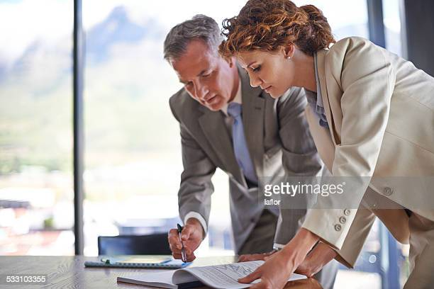 Signing off on the final draft