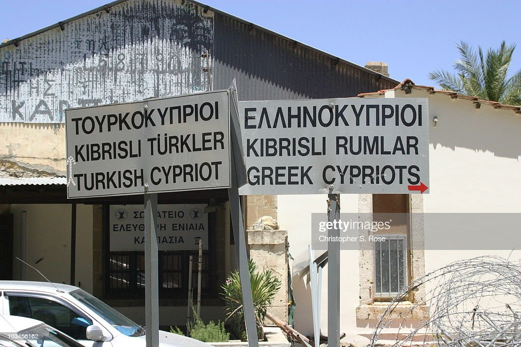 Signs Near Ledras Palace Checkpoint