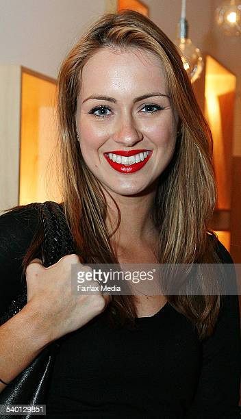 Sigourney Gray at the Stella McCartney perfume launch at The Corner Shop Strand Arcade Sydney 16 October 2006 SHD Picture by JENNY EVANS