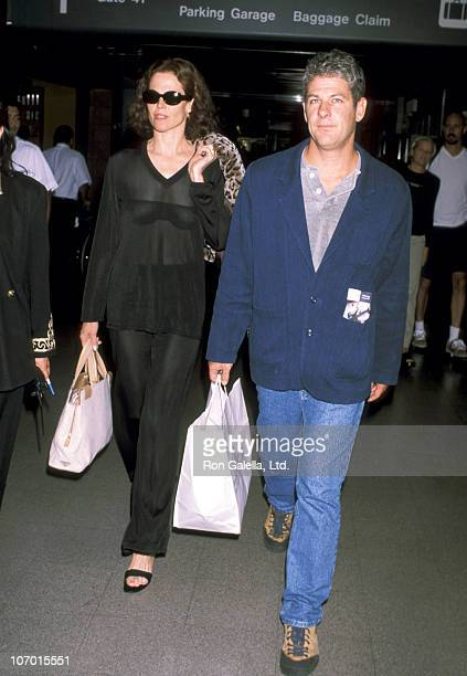 Sigourney Weaver and Jim Simpson during Sigourney Weaver Sighting at Los Angeles International Airport September 14 1998 at Los Angeles International...