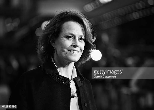 Sigourney Weaver attends 'A Monster Calls' May Fair Hotel Gala screening during the 60th BFI London Film Festival at Odeon Leicester Square on...