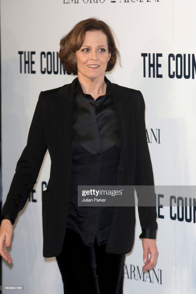 Sigourney Weaver attends a special screening of 'The Counselor' at Odeon West End on October 3, 2013 in London, England.