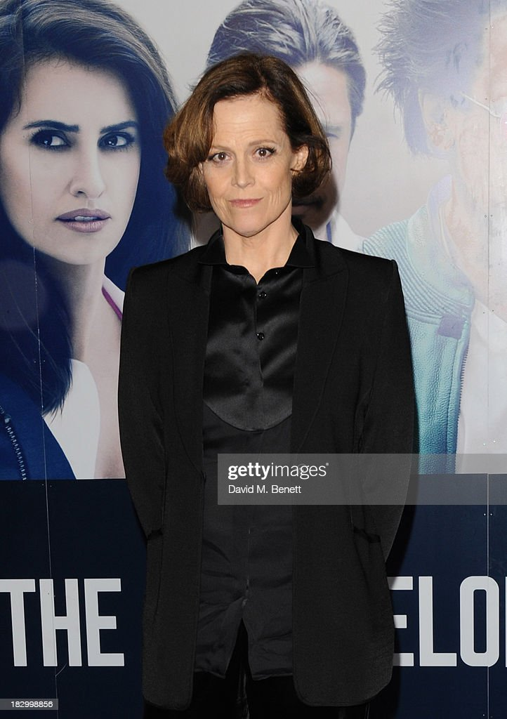 <a gi-track='captionPersonalityLinkClicked' href=/galleries/search?phrase=Sigourney+Weaver&family=editorial&specificpeople=201647 ng-click='$event.stopPropagation()'>Sigourney Weaver</a> attends a special screening of 'The Counselor' at the Odeon West End on October 3, 2013 in London, England.