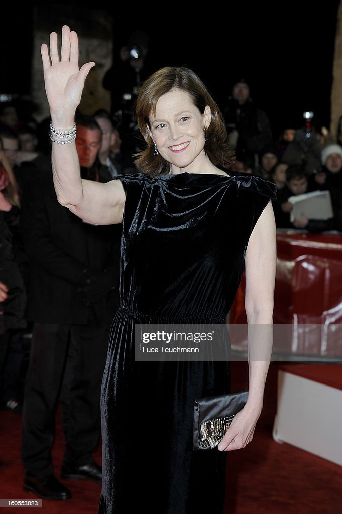 <a gi-track='captionPersonalityLinkClicked' href=/galleries/search?phrase=Sigourney+Weaver&family=editorial&specificpeople=201647 ng-click='$event.stopPropagation()'>Sigourney Weaver</a> attends the 48th Golden Camera Awards at the Axel Springer Haus on February 2, 2013 in Berlin, Germany.