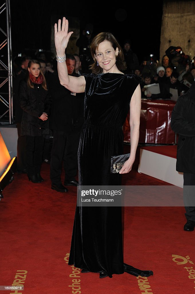 Sigourney Weaver attends the 48th Golden Camera Awards at the Axel Springer Haus on February 2, 2013 in Berlin, Germany.