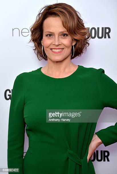 Sigourney Weaver attends the Glamour Women Of The Year Awards at Berkeley Square Gardens on June 7 2016 in London England
