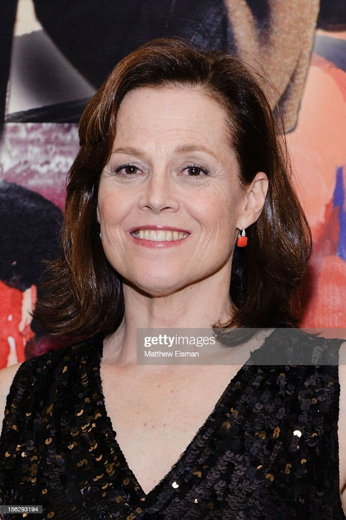 Sigourney Weaver attends the opening night of 'Vanya And Sonia And Masha And Spike' at Mitzi E. Newhouse Theater on November 12, 2012 in New York City.