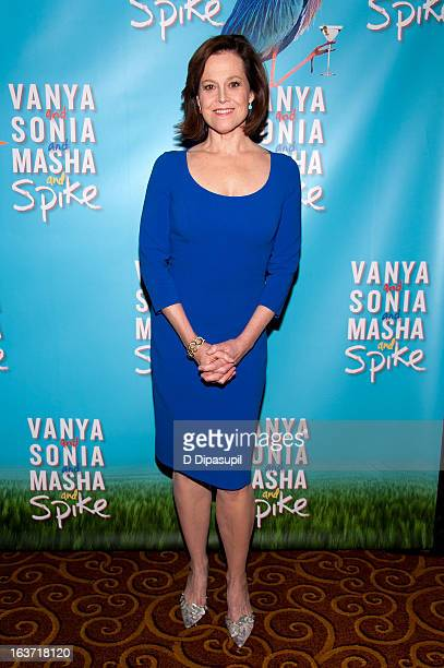 Sigourney Weaver attends the 'Vanya And Sonia And Masha And Spike' Broadway Opening Night After Party at Gotham Hall on March 14 2013 in New York City