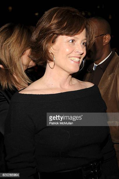 Sigourney Weaver attends VANITY FAIR Tribeca Film Festival Party hosted by GRAYDON CARTER ROBERT DE NIRO and RONALD PERELMAN at The State Supreme...
