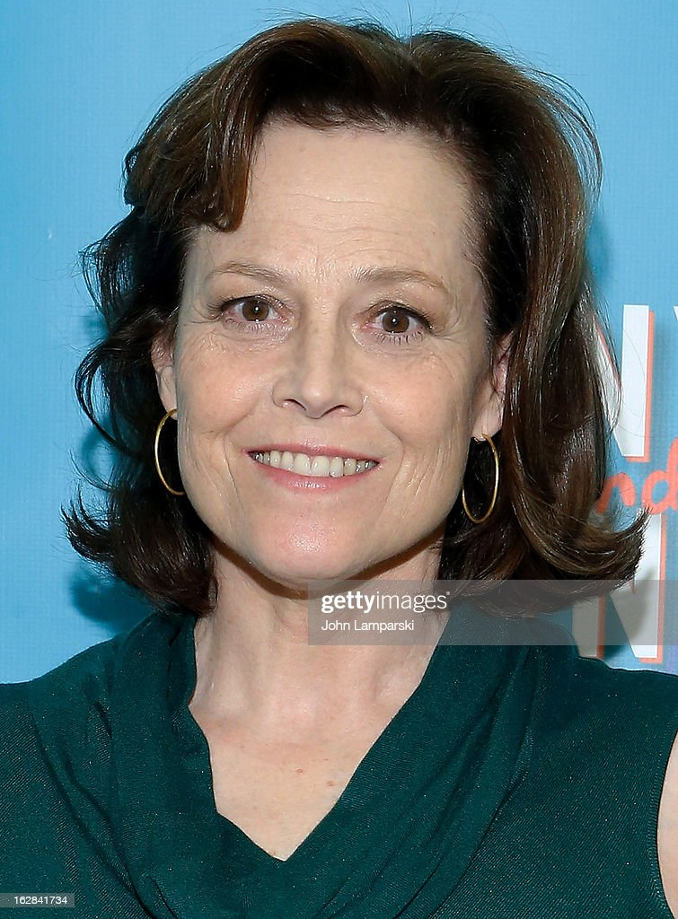 <a gi-track='captionPersonalityLinkClicked' href=/galleries/search?phrase=Sigourney+Weaver&family=editorial&specificpeople=201647 ng-click='$event.stopPropagation()'>Sigourney Weaver</a> attends 'Vanya And Sonia And Masha And Spike' Broadway Press Preview at The New 42nd Street Studios on February 28, 2013 in New York City.