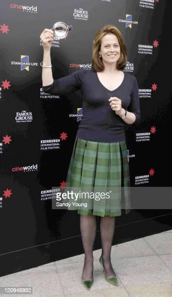 Sigourney Weaver during 2006 Edinburgh International Film Festival Reel Life Sigourney Weaver Receives Lifetime Achievement Award at Cineworld in...