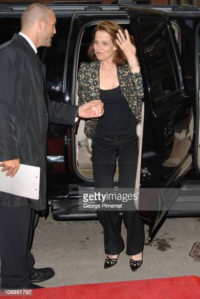 Sigourney Weaver during 31st Annual Toronto International Film Festival 'FQ Magazine/Dior Dinner for Infamous' at Aletier in Toronto Ontario Canada
