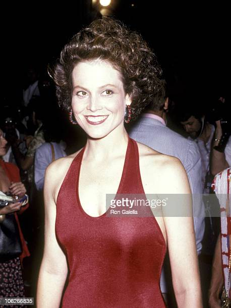 Sigourney Weaver during 'Aliens' Los Angeles Premiere at Westwood Theatre in Westwood California United States