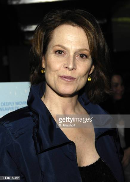 Sigourney Weaver during 'Snow Cake' New York City Premiere After Party at IFC Center in New York City New York United States