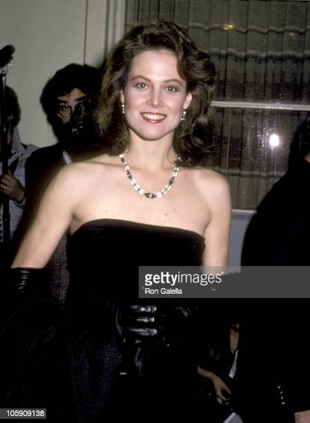 Sigourney Weaver during 'The Year of Living Dangerously' Los Angeles Screening January 26 1983 at MGM Commissary in Culver City California United...
