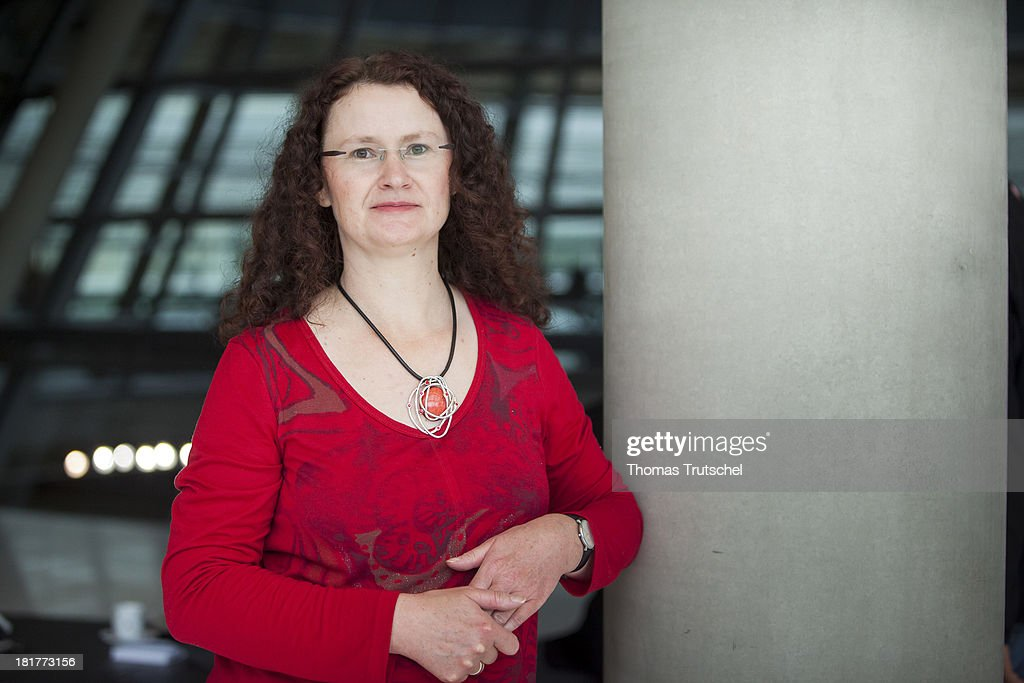 Sigrid Hupach, Die Linke, member of German Bundestag, poses for a photograph on September 24, 2013 in Berlin, Germany.
