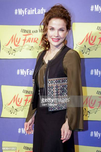 Sigrid Thornton arrives ahead of opening night of My Fair Lady at Regent Theatre on May 16 2017 in Melbourne Australia