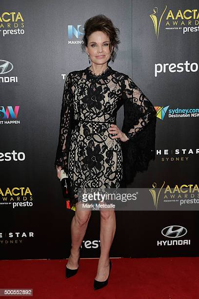 Sigrid Thornton arrives ahead of the 5th AACTA Awards Presented by Presto at The Star on December 9 2015 in Sydney Australia
