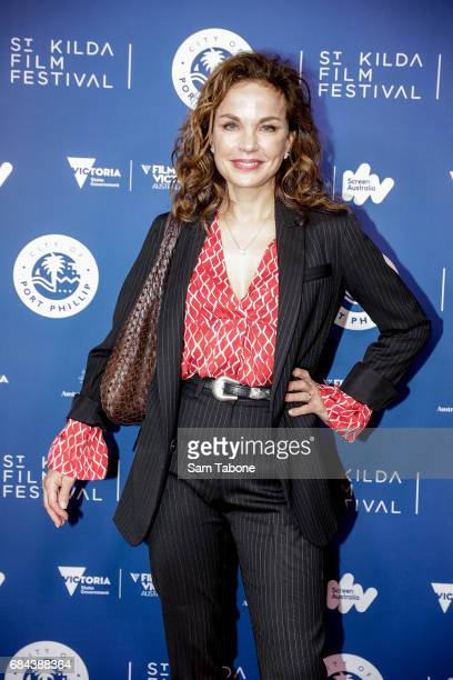 Sigrid Thornton arrives ahead of the St Kilda Film Festival 2017 Opening Night at Palais Theatre on May 18 2017 in Melbourne Australia