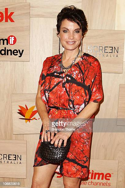 Sigrid Thornton arrives at the 2010 Inside Film Awards at the City Recital Hall on November 14 2010 in Sydney Australia