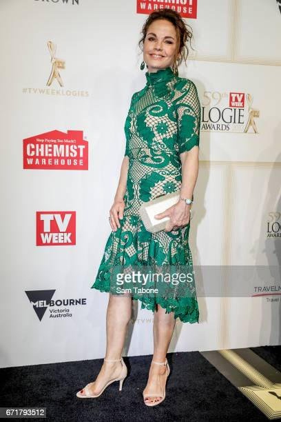 Sigrid Thornton arrives at the 59th Annual Logie Awards at Crown Palladium on April 23 2017 in Melbourne Australia