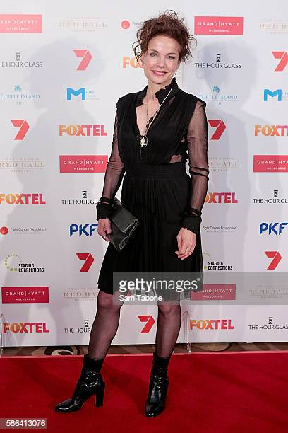 Sigrid Thornton Attends the 24th Anniversary Red ball on August 6 2016 in Melbourne Australia