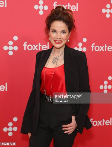 Sigrid Thornton poses during a Foxtel Event at Hordern Pavilion on June 6 2017 in Sydney Australia