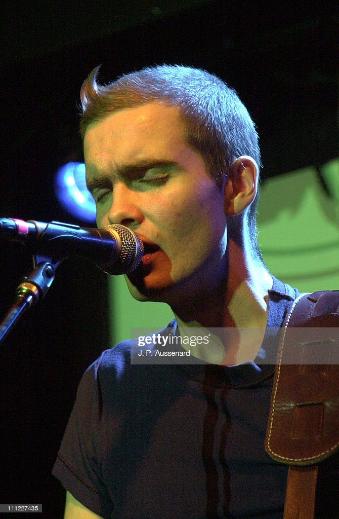 Sigur Ros during First Virgin Megastore Shortlist Award Show at Knitting Factory in Hollywood California United States