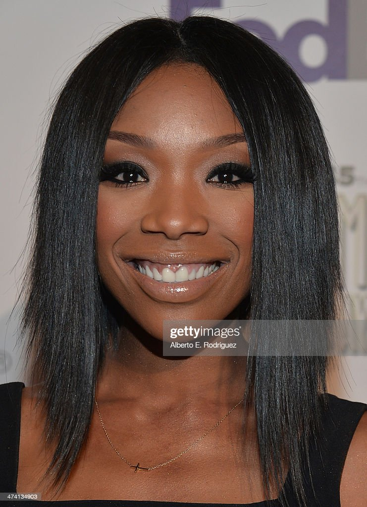 Siinger <a gi-track='captionPersonalityLinkClicked' href=/galleries/search?phrase=Brandy+Norwood&family=editorial&specificpeople=202122 ng-click='$event.stopPropagation()'>Brandy Norwood</a> attends the 45th NAACP Awards Non-Televised Awards Ceremony at the Pasadena Civic Auditorium on February 21, 2014 in Pasadena, California.