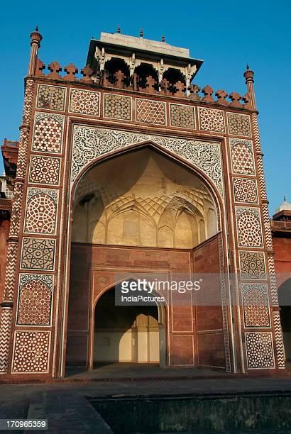 Sikandra Tomb is the mausoleum of Akbar in Sikandra Fort Agra Uttar Pradesh India