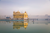 Sikh devotees visit the Golden Temple in Amritsar