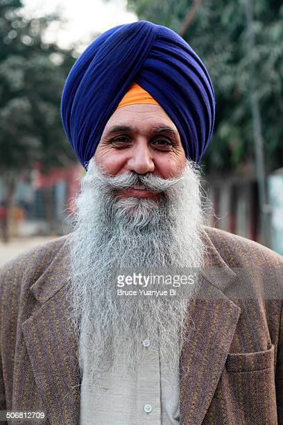 A sikh man with turban