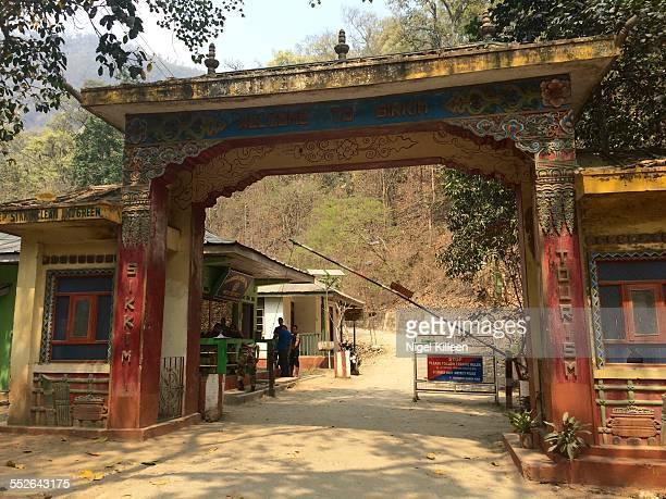 Sikkim Border Rammam Border checkpoint West Bengal India