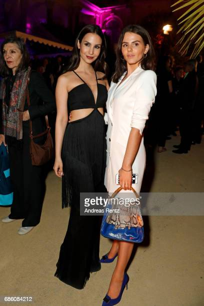 Sila Sahin and Ruby O Fee attend the German Reception during the 70th annual Cannes Film Festival at Villa Rothschild on May 20 2017 in Cannes France