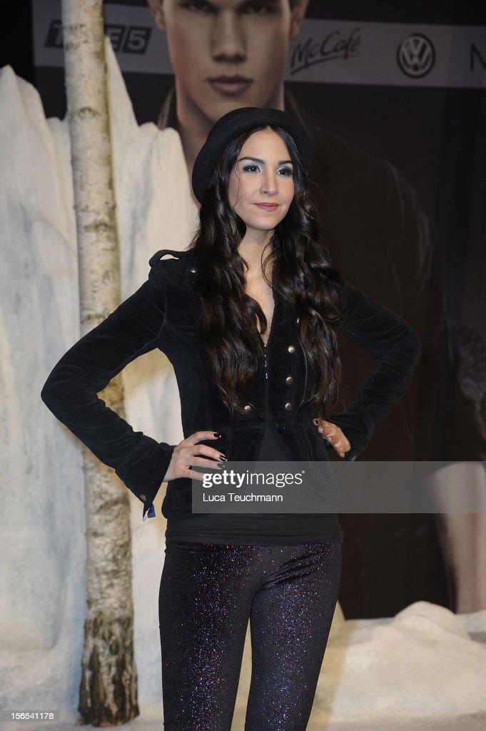 Sila Sahin attend the 'Twilight Saga: Breaking Dawn Part 2' Germany Premiere at CineStar on November 16, 2012 in Berlin, Germany.