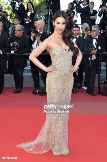 Sila Sahin attends the '120 Beats Per Minute ' screening during the 70th annual Cannes Film Festival at Palais des Festivals on May 20 2017 in Cannes...