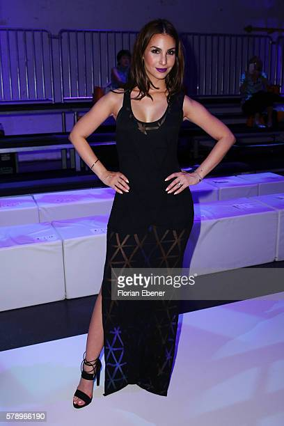 Sila Sahin attends the Breuninger after party during Platform Fashion July 2016 at Areal Boehler on July 22 2016 in Duesseldorf Germany