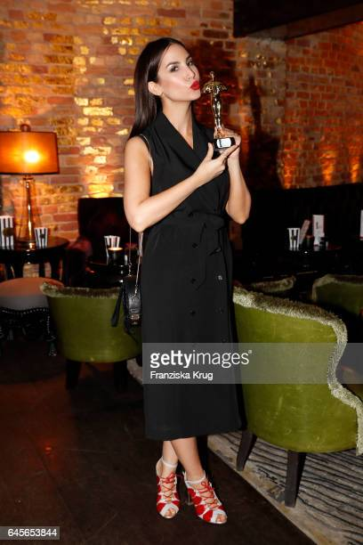 Sila Sahin attends the 'E Entertainment Influencer Suite' a red carpet live viewing event of the 89th Academy Awards by the payTV station E...