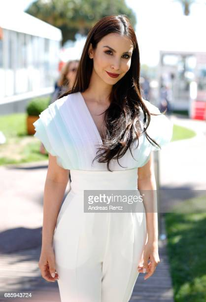 Sila Sahin attends the Medienboard Reception during the 70th annual Cannes Film Festival at Grand Hotel Garden on May 20 2017 in Cannes France