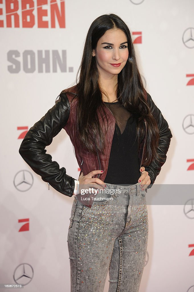Sila Sahin attends the premiere of 'Die Hard - Ein Guter Tag Zum Sterben' at Sony Center on February 4, 2013 in Berlin, Germany.