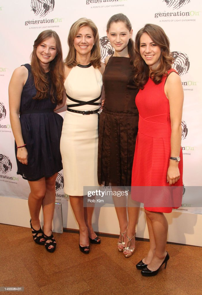 Silda Wall Spitzer and daughters attend GenerationOn's Annual Benefit at 583 Park Avenue on May 31 2012 in New York City