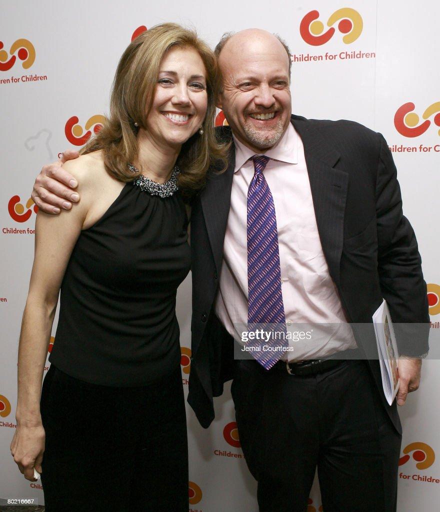 Silda Wall Spitzer and Jim Cramer