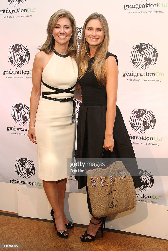 Silda Wall Spitzer and Lauren Bush Lauren attend GenerationOn's Annual Benefit at 583 Park Avenue on May 31 2012 in New York City