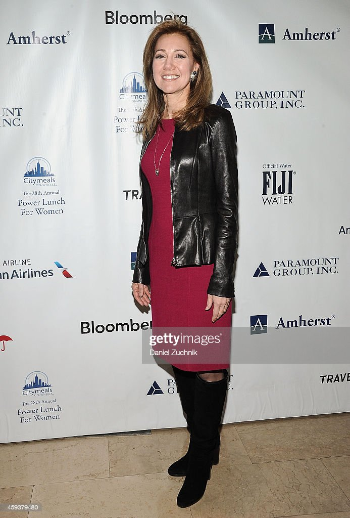 Silda Wall Spitzer attends 28th Annual CitymealsonWheels Power Lunch For Women at The Plaza Hotel on November 21 2014 in New York City