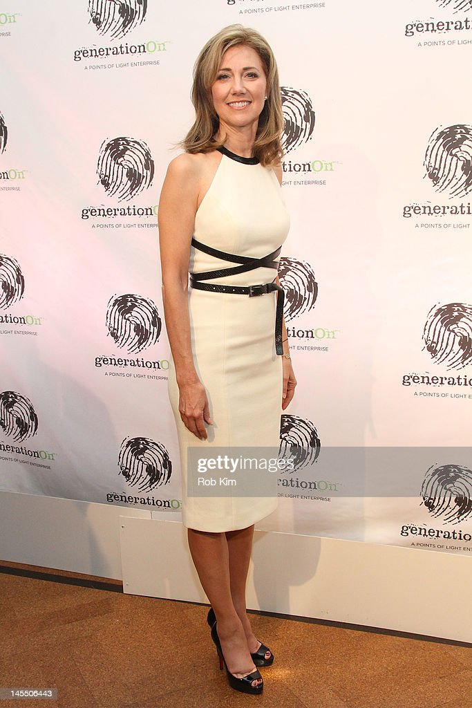 Silda Wall Spitzer attends GenerationOn's Annual Benefit at 583 Park Avenue on May 31 2012 in New York City